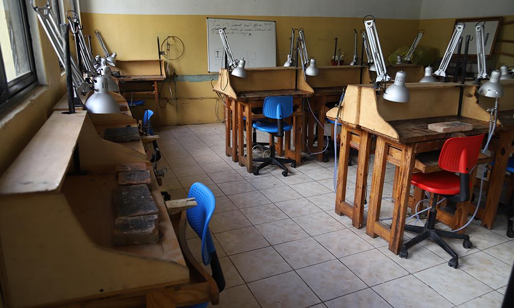 FUNDARTE prepara técnicos artesanos, que serán insertados en el mundo laboral. Danny Polanco