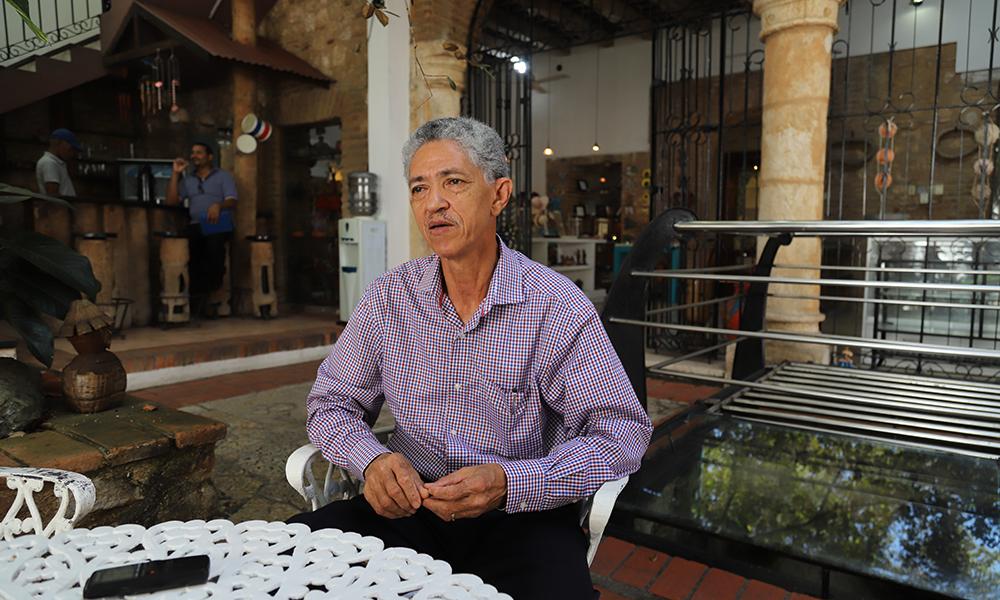 Jorge Caridad, director y fundador de FUNDARTE.